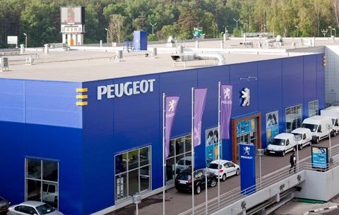 Автоцентр «Peugeot»-Major Москва