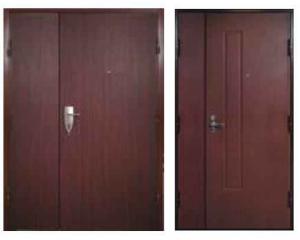 Двупольные двери Estrudoor класса HDD