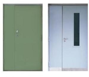 Противопожарные двупольные двери Estrudoor класса FDD30 EI и FDD30 FRG