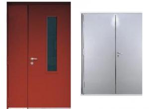 Противопожарные двупольные двери Estrudoor класса FDD60 EI и FDD60 FRG
